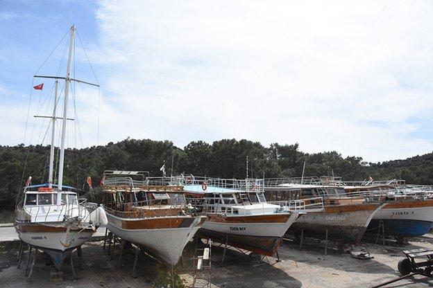 Antalya'da yatlar, turizm sezonuna hazırlanıyor