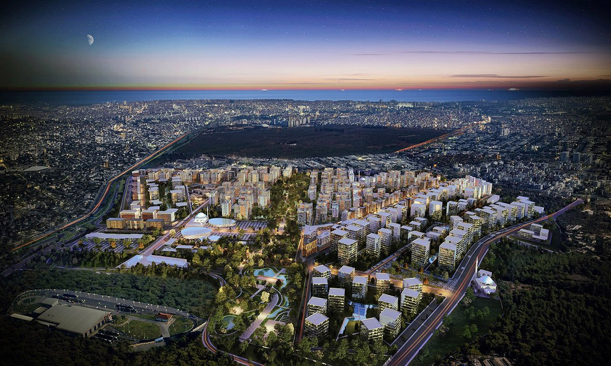 Antalya sakinleri yeni evlerine taşınıyor