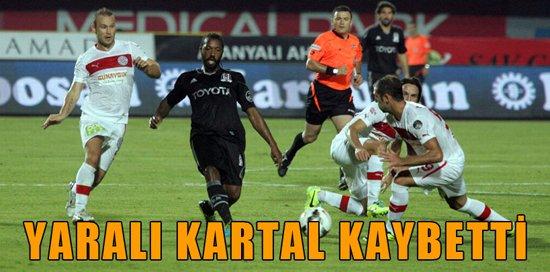 Antalyaspor 2 Beşiktaş 0