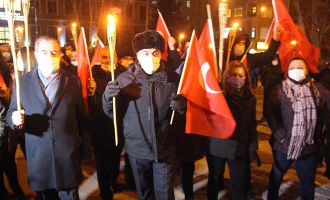 Ardahan'ın 100'üncü kurtuluş yılı kutlaması