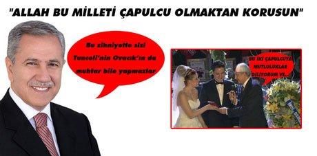 Arınç'tan Kılıçdaroğlu'na 'Çapulcu' göndermesi