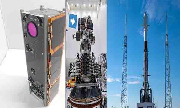 ASELSAT 3U Küp Uydusu gökyüzüne havalandı(video)