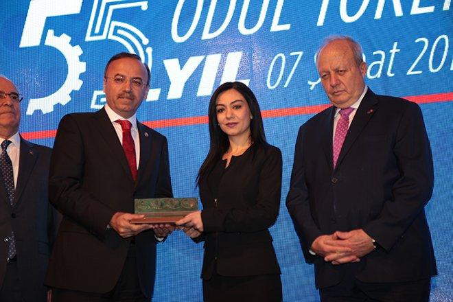 ASO'dan Emse'ye 'En İyi Ar-Ge Merkezi Ödülü'