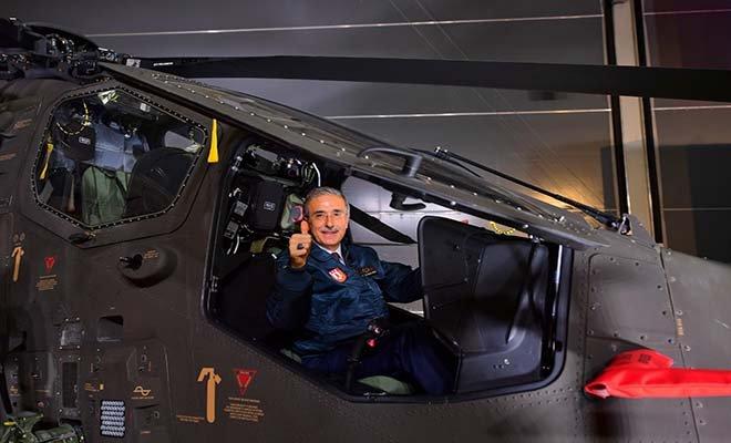 (video)ATAK helikopteri, Emniyet Genel Müdürlüğüne teslim edildi