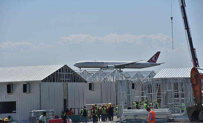 Atatürk Havalimanı'ndaki salgın hastanesi'nde son durum