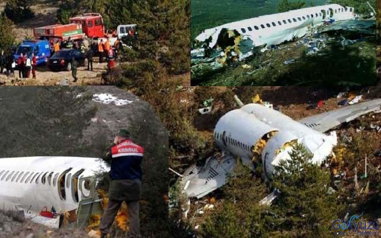 Atlasjet Isparta kazası sırlarıyla tarih oldu!