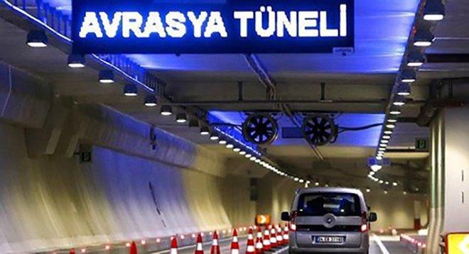 Avrasya tüneli tek yön geçiş 48,10 TL oldu!