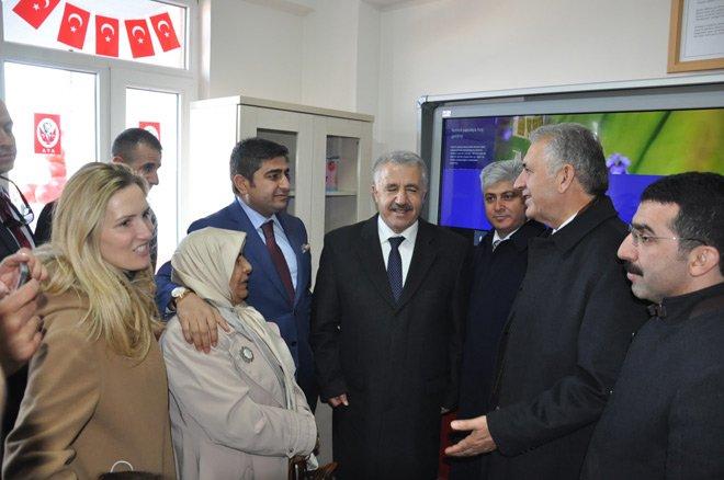 Bakan Arslan, Digor'da okul açılışı yaptı