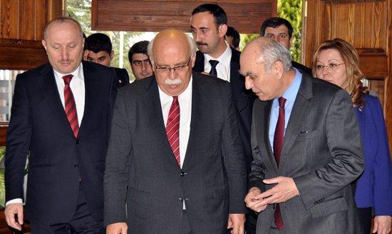 Bakan Avcı, Kosova Bakanı ile Eskişehir'de buluştu