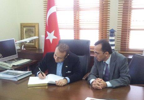 Bakan Bağış Şile Belediyesi'ni ziyaret etti.