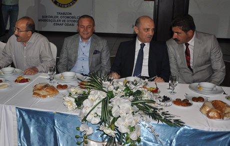 Bakan Bayraktar Trabzon'da
