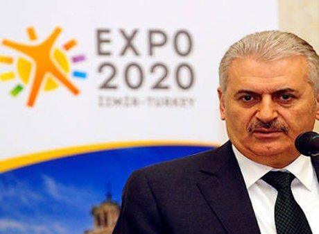 Bakan Binali Yıldırım'dan EXPO turu