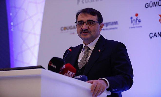 Bakan Dönmez: Türkiye'nin enerjisi 3'e katlandı