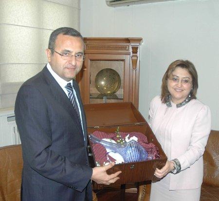 Bakan Fatma Şahin  Denizli'de