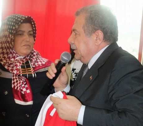 Bakan Güler,şehit aileleri kırmızı çizgimizdir