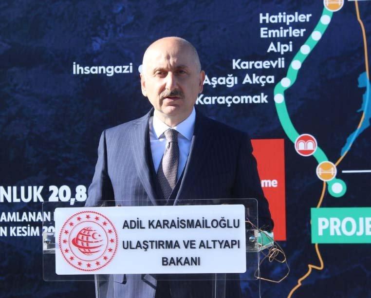 (video)Bakan Karaismailoğlu: Dünyayı Türkiye'ye bağlıyoruz
