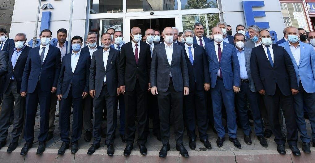 Bakan Karaismailoğlu: Kervan yürümeye devam edecek#video