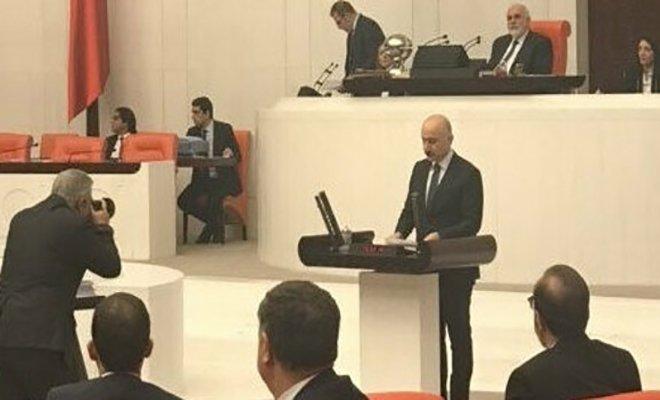 Bakan Karaismailoğlu TBMM Genel Kurulunda yemin etti