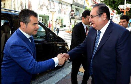 Bakan Kılıç Başkan Özcan'ı ziyaret etti