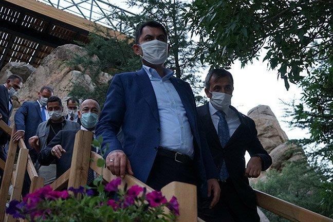 Bakan Kurum: Kalecik'e eski Ankara evlerini yapacağız
