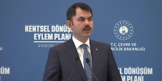 Bakan Kurum, Kentsel Dönüşüm Eylem Planı'nı açıkladı