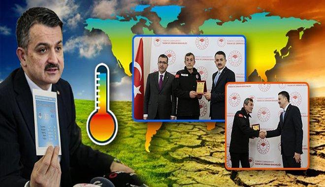 Bakan Pakdemirli'den iklim değişikliği mesajı