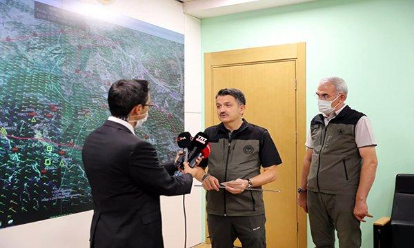 Bakan Pakdemirli'den 'sabotaj' iddialarına açıklama