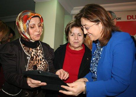 Bakan Şahin, AK Parti'yi  ziyaret etti.