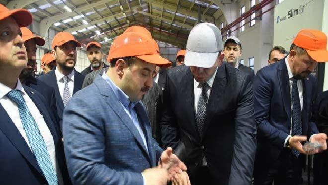 Bakan Varank'tan sanayi tesislerine ziyaret