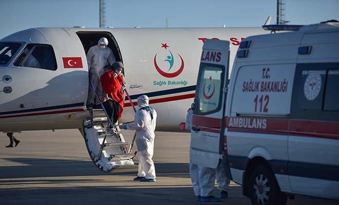 Bangladeş'te koronavirüse yakalanan aile Türkiye'ye getirildi