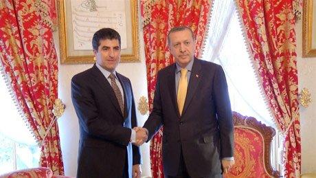 Başbakan Erdoğan, Barzani İle Bir Araya Geldi
