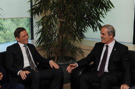 Başkan Altepe,BTSO yeni yönetimini ziyaret etti.