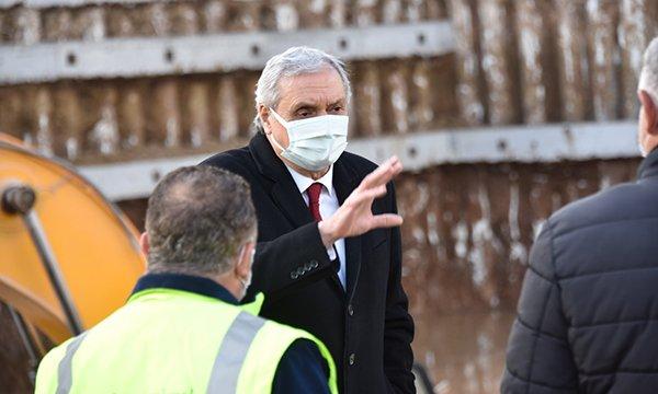 Başkan Bakkalcıoğlu,Projeleri yerinde inceledi.