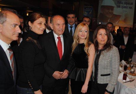 Başkan Kadir Topbaş Beşiktaş'ta