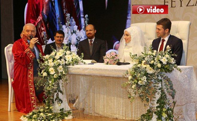 Başkan Mevlüt Uysal Oğlunun nikahını kıydı