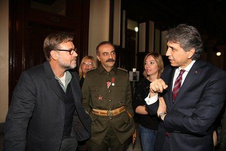 Başkan Mustafa Demir, Russell Crowe ile buluştu.