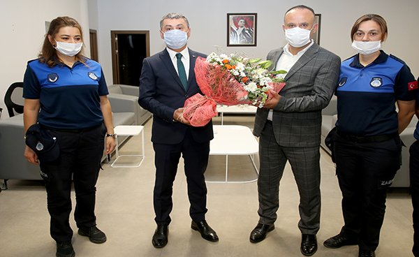 Başkan Ramazan Şimşek Zabıta Hastasını Kutladı…