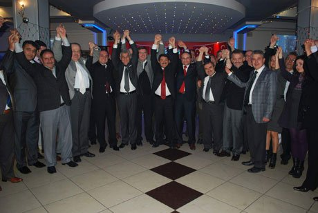 Başkan Mersinli'ye Ak Parti Teşkilatlarından Tam Destek
