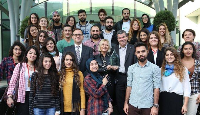 Bayer Genç Bilim Elçileri Projesi'ne anlamlı ödül