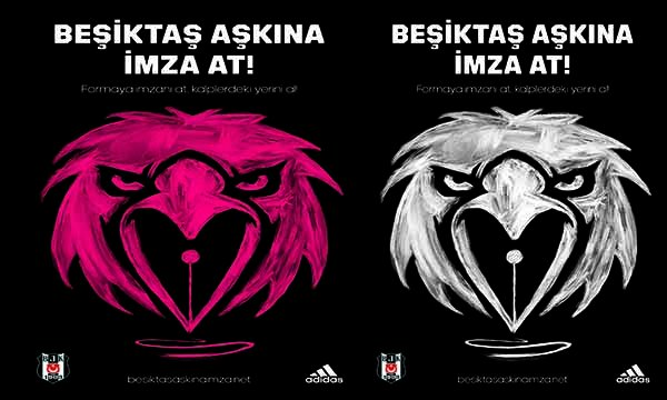 Beşiktaş aşıkları imzaya bekleniyor