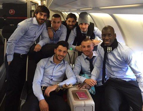 Beşiktaş kafilesi İngiltere'ye gitti