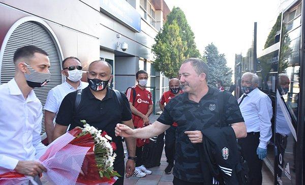 Beşiktaş kafilesi Malatya'ya geldi