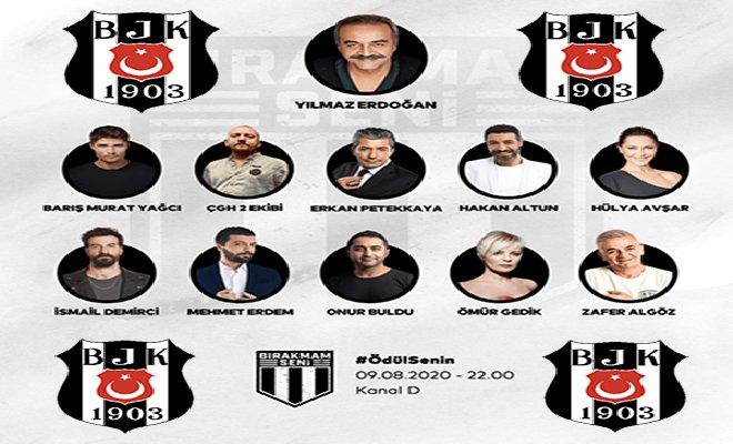 Beşiktaş'a Destek Gecesi saat 22:00'de Kanal D'de!
