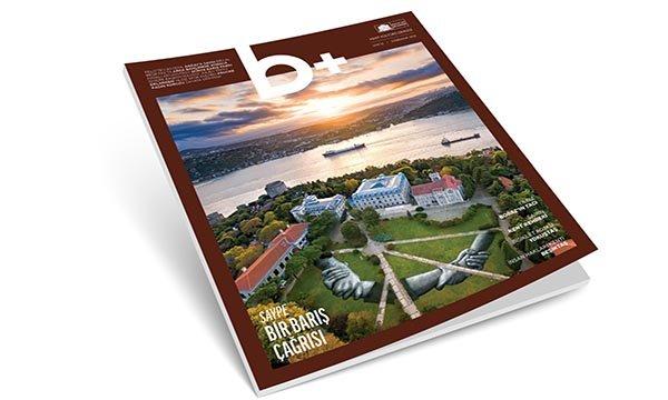 Beşiktaş'ın kent kültür dergisi b+ yeni sayısıyla yayında