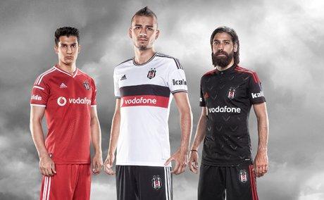 Beşiktaş'ın yeni sezon formaları