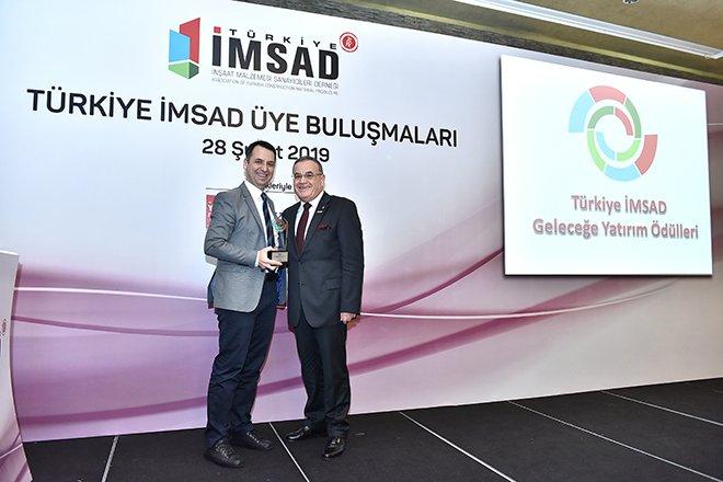 Betek Boya'ya İMSAD'dan 'Çevre' Ödülü