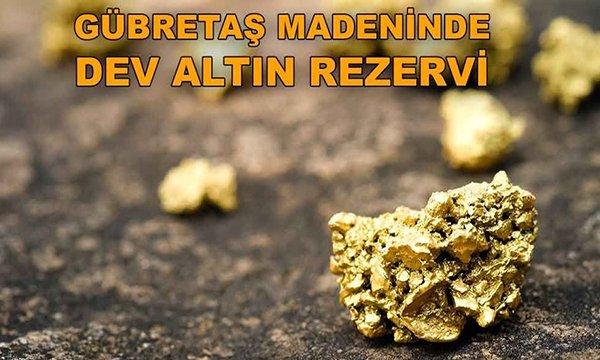 Bilecik söğüt altın madeninde dev rezerv bulundu...
