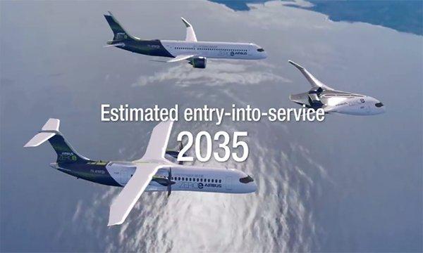 Bileşik-kanat gövdeli tasarım konsepti (200 yolcu)video