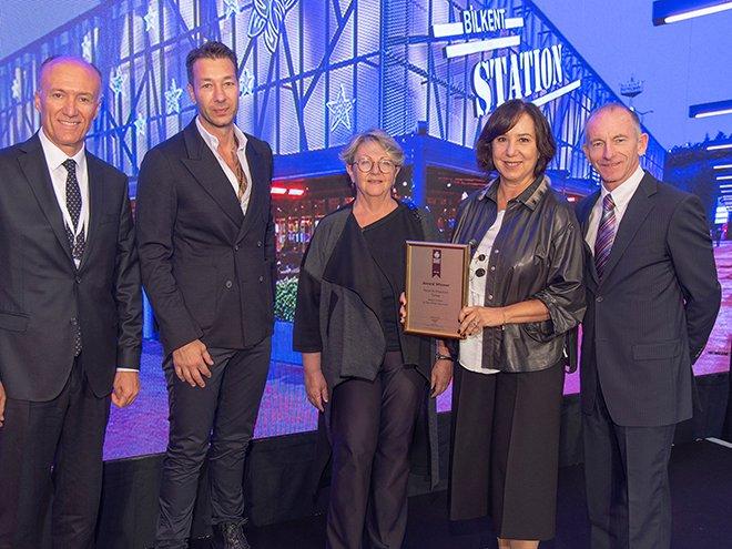 Bilkent Center'a 2 ayrı mimari dalda ödül!