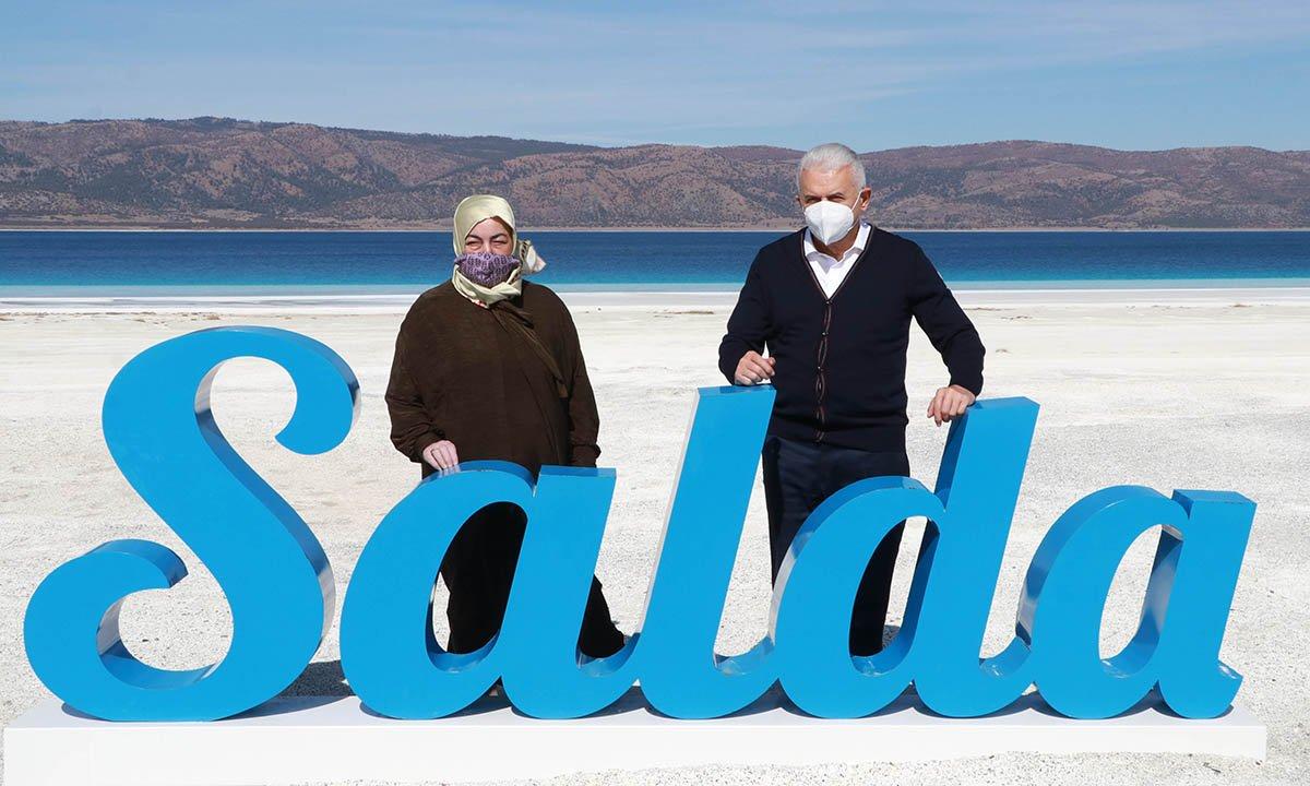 Binali Yıldırım: Salda'nın ünü Türkiye'yi aştı